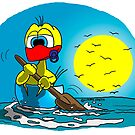"""Rick the chick """"CANOE"""" by CLAUDIO COSTA"""