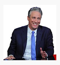 The Daily Show with Jon Stewart Photographic Print
