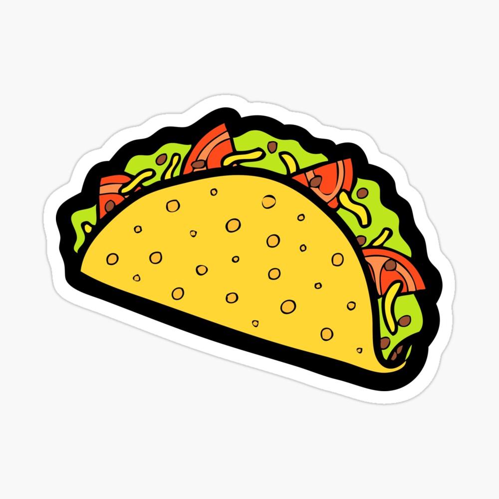 It's Taco Time! Sticker