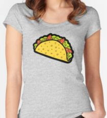 It's Taco Time! Women's Fitted Scoop T-Shirt
