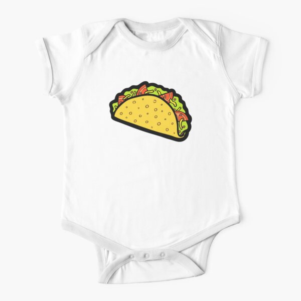 It's Taco Time! Short Sleeve Baby One-Piece