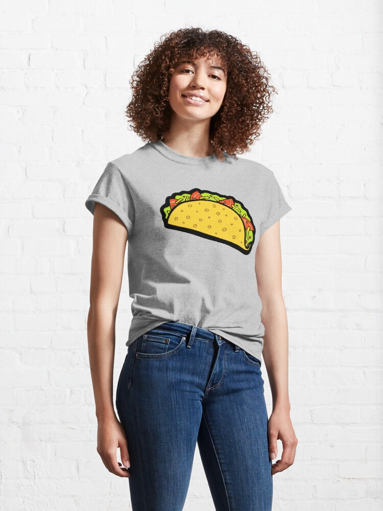 Alternate view of It's Taco Time! Classic T-Shirt