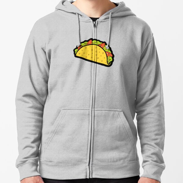 It's Taco Time! Zipped Hoodie