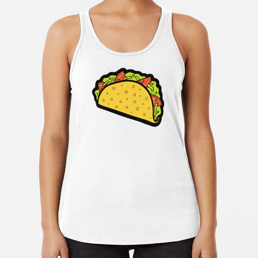 It's Taco Time! Racerback Tank Top