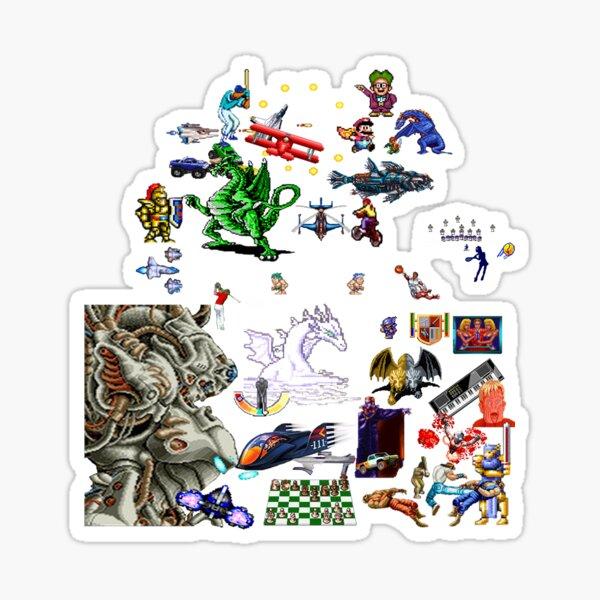 Super Sonntag 50pc Sticker