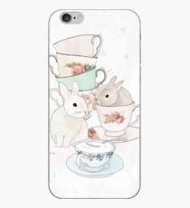 Bunnies and Tea iPhone Case