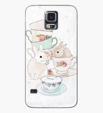Bunnies and Tea Case/Skin for Samsung Galaxy