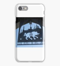 Hogsmeade Spell Limit sign iPhone Case/Skin