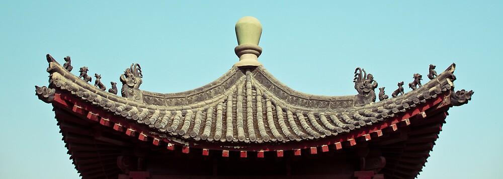 asia temple roof by lockstockbarrel