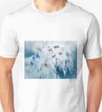 Cotton Grass Seedhead blues T-Shirt