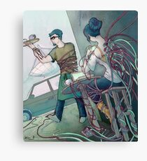 Wire Cafe Canvas Print