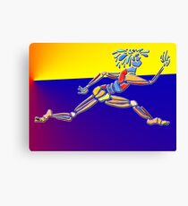 Dance Warrior IV Le Leep Canvas Print