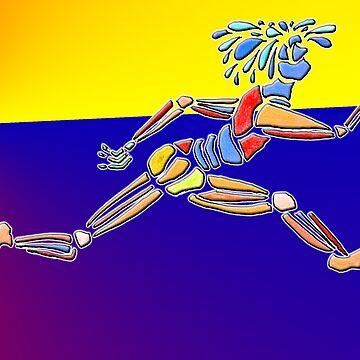 Dance Warrior IV Le Leep by JimmyGlenn