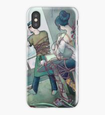 Wire Cafe iPhone Case/Skin