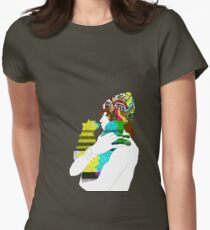 Andrew Vanwyngarden + Cats Womens Fitted T-Shirt