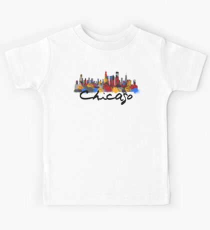 Chicago Illinois Skyline Kids Clothes