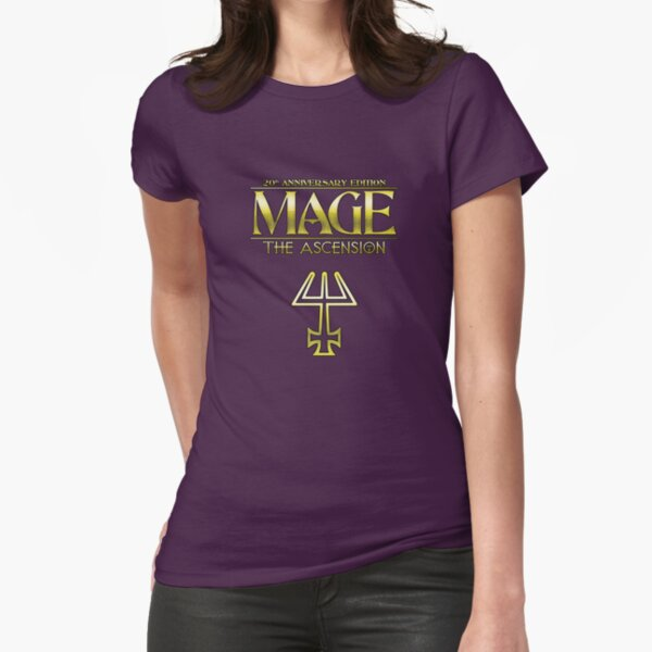 Mage: The Ascension 20th Anniversary Edition Fitted T-Shirt