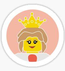 The Queen Sticker