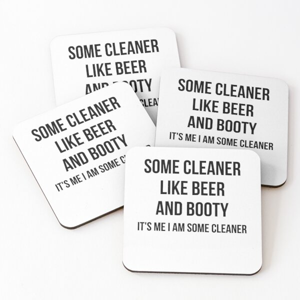 some cleaner Coasters (Set of 4)
