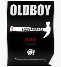 Oldboy - Minimal Movie Poster Poster