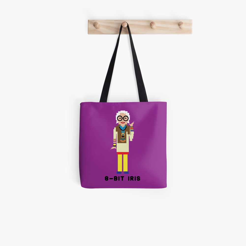 8-Bit Iris Tote Bag