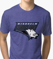 Windhelm Stormcloaks Basketball Logo Tri-blend T-Shirt