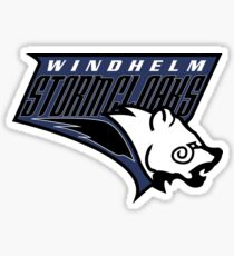 Windhelm Stormcloaks Basketball Logo Sticker