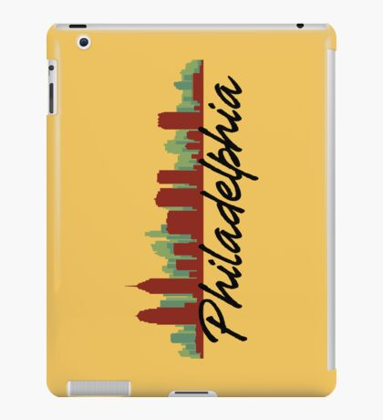 Philadelphia Pennsylvania Skyline iPad Case/Skin
