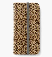 Wild Leopard Print iPhone Wallet