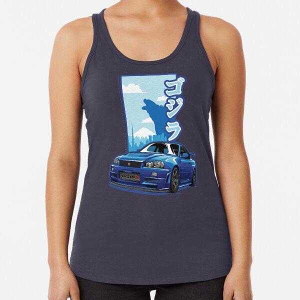 Monster Skyline GTR R34 Racerback Tank Top