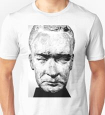 sculpture face stone stallin T-Shirt