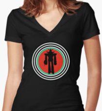 Shogun Warriors - Raydeen Women's Fitted V-Neck T-Shirt