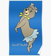 Cindy Bear Yogi Bear Poster