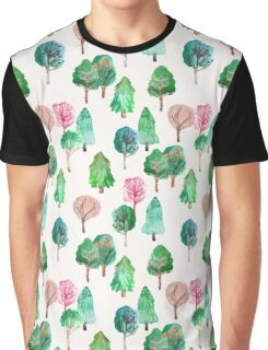 Little Trees Graphic T-Shirt