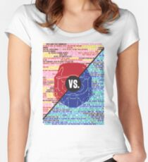 Red Vs. Blue Women's Fitted Scoop T-Shirt