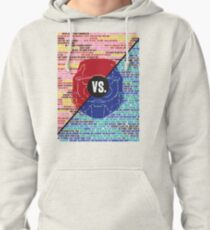 Red Vs. Blue Pullover Hoodie