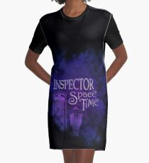 Inspector Spacetime Graphic T-Shirt Dress