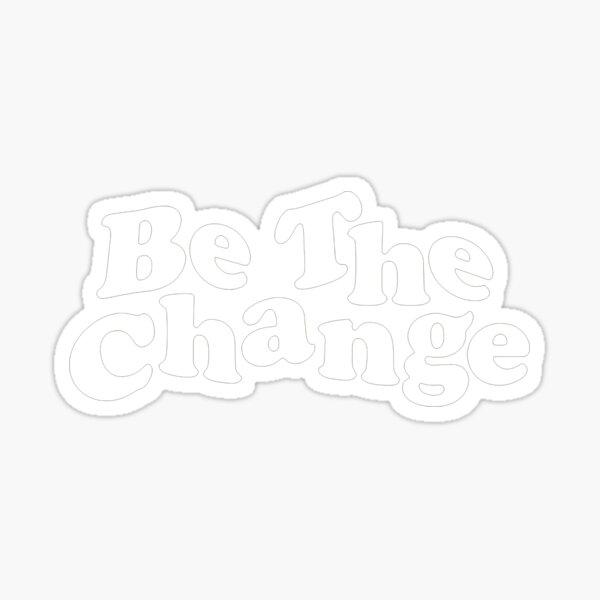 Gorillaz m-erch être le changement Sticker
