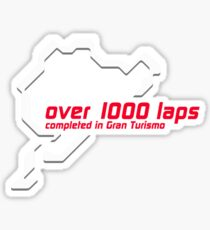 Pegatina Nurburgring 1000 lap club - Gran Turismo