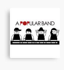 A POPular Band Canvas Print