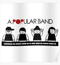 A POPular Band Poster