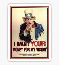 Chris Roberts wants your money for his Vision! Sticker