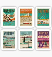 Southend-on-Sea, Essex, UK Poster Collection Sticker