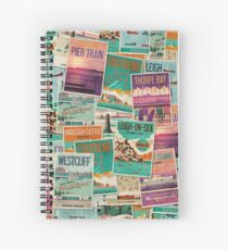 Southend-on-Sea, Essex, UK Poster Collection Spiral Notebook
