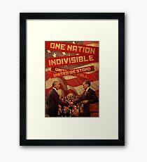 United We Stand, United We Fall Framed Print