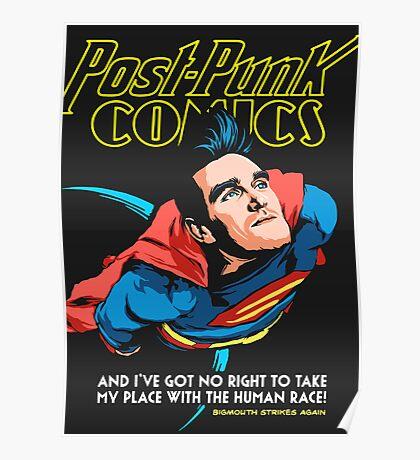 Post-Punk Comics | Super Mouth Strikes Again Poster
