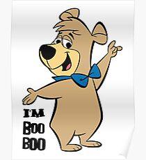 Bobo Bear Yogi Bear Poster