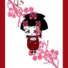 Chibi Lady Aka by artwaste