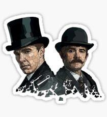 Sherlock And Watson  Sticker
