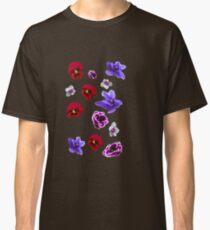 Flowers, violets Classic T-Shirt